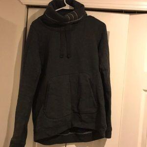 Lululemon mock turtleneck sweatshirt